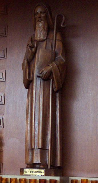 st_columbas_stpaul_statue
