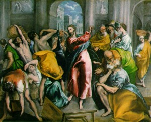 christ.money changers temple.el greco-300x244
